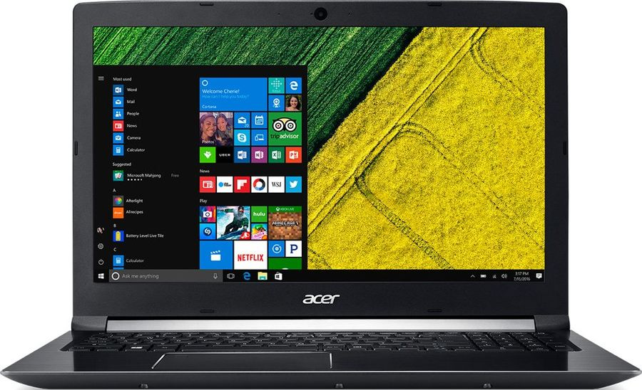 Ноутбук ACER Aspire A715-71G-51J1, 15.6, Intel Core i5 7300HQ 2.5ГГц, 8Гб, 500Гб, nVidia GeForce GTX 1050 - 2048 Мб, Windows 10, NX.GP8ER.008, черныйНоутбуки<br>экран: 15.6;  разрешение экрана: 1920х1080; процессор: Intel Core i5 7300HQ; частота: 2.5 ГГц (3.5 ГГц, в режиме Turbo); память: 8192 Мб, DDR4; HDD: 500 Гб, 5400 об/мин; nVidia GeForce GTX 1050 - 2048 Мб; WiFi;  Bluetooth; HDMI; WEB-камера; Windows 10<br><br>Линейка: Aspire