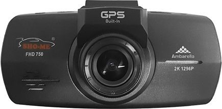 Видеорегистратор SHO-ME FHD-750 GPS черный