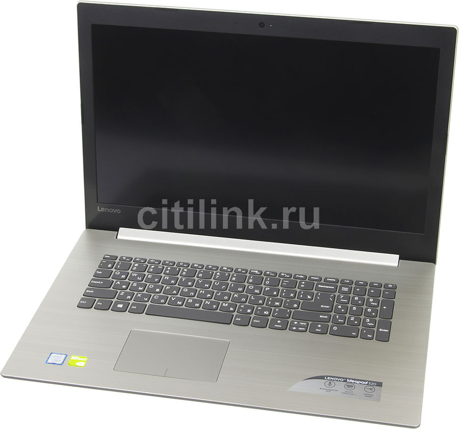 Ноутбук LENOVO IdeaPad 320-17IKB, 17.3, Intel Core i5 7200U 2.5ГГц, 8Гб, 1000Гб, 128Гб SSD, nVidia GeForce 940MX - 2048 Мб, Windows 10, серый [80xm00h2rk] ноутбук lenovo ideapad 320 17ikb 17 3 intel core i3 7100u 2 4ггц 8гб 1000гб nvidia geforce 940mx 2048 мб windows 10 серый [80xm00bhrk]
