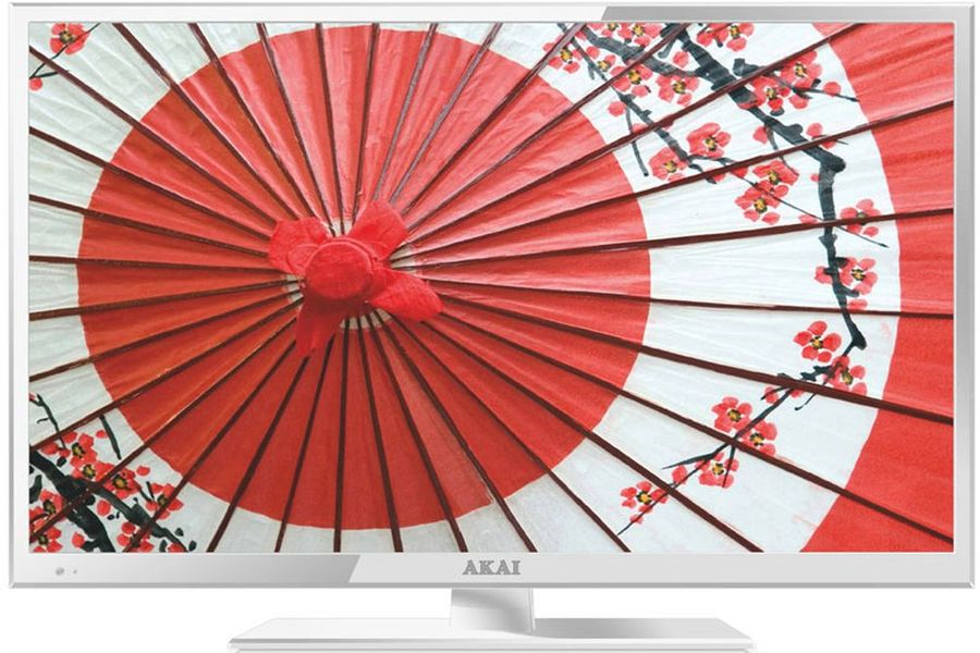 "LED телевизор AKAI LEA-24B53W  ""R"", 23.6"", FULL HD (1080p),  белый"