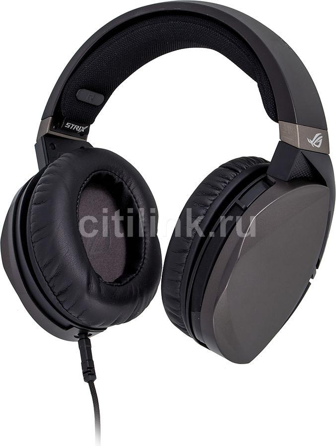 Наушники с микрофоном ASUS ROG Strix Fusion 300,  мониторы, черный  [90yh00z1-b8ua00]