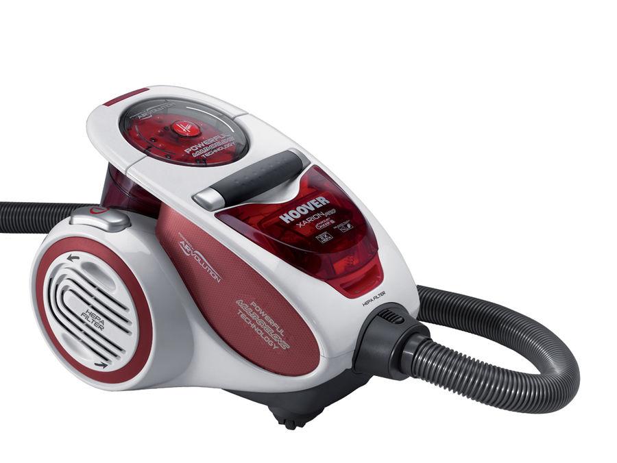 Пылесос HOOVER TXP1510 019, 1500Вт, красный