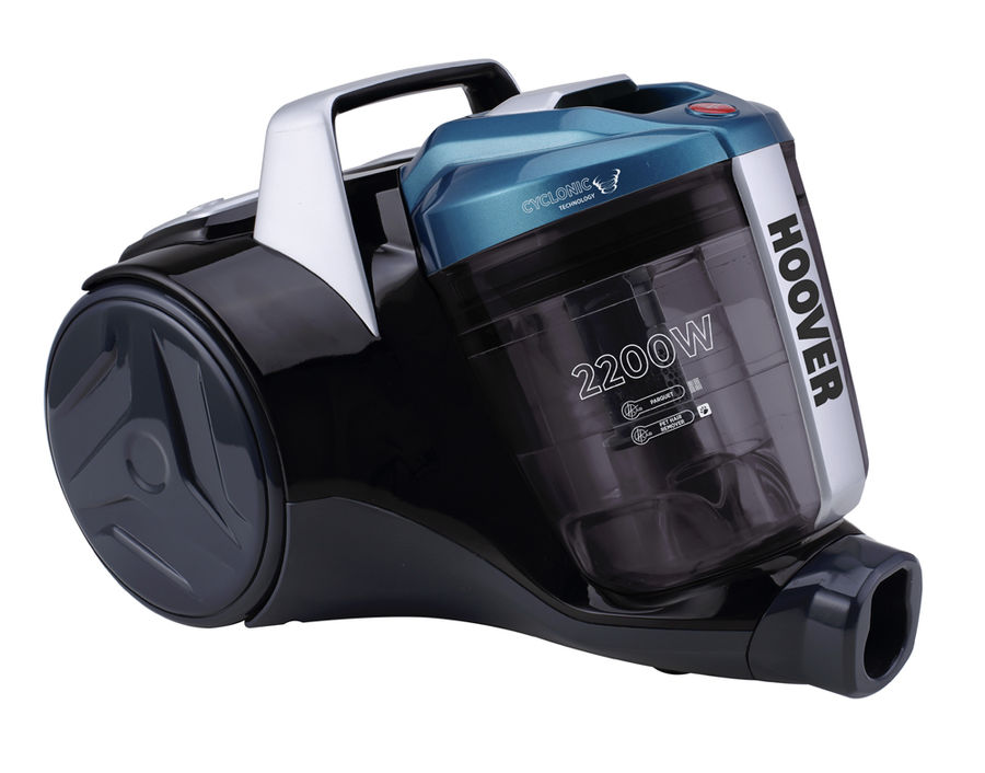 Пылесос HOOVER BR2230 019, 2200Вт, голубой