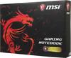 """Ноутбук MSI GP72MVR 7RFX(Leopard Pro)-692RU, 17.3"""", Intel  Core i7  7700HQ 2.8ГГц, 16Гб, 1000Гб, 256Гб SSD,  nVidia GeForce  GTX 1060 - 3072 Мб, Windows 10 Home, 9S7-179BC3-692,  черный вид 18"""