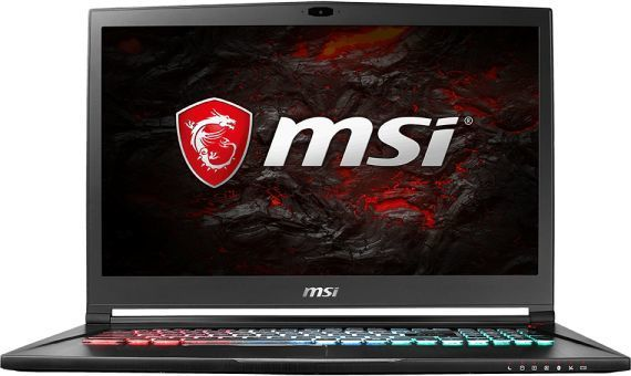 Ноутбук MSI GS73VR 7RG(Stealth Pro 4K)-083RU, 17.3, Intel Core i7 7700HQ 2.8ГГц, 32Гб, 2Тб, 512Гб SSD, nVidia GeForce GTX 1070 - 8192 Мб, Windows 10, черный [9s7-17b312-083]