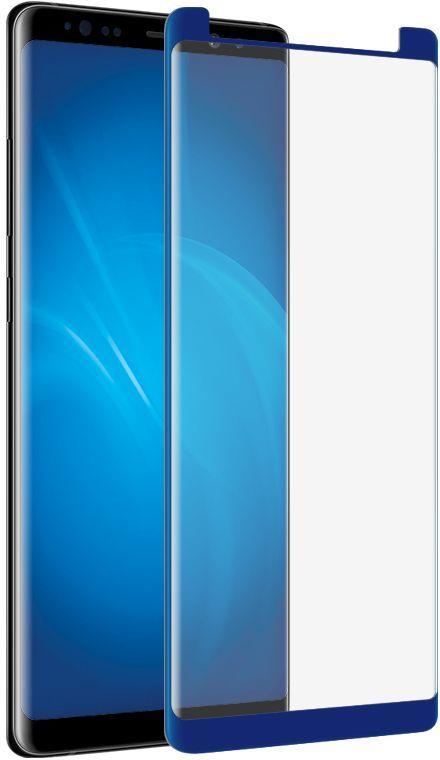 Защитное стекло DF sColor-26  для Samsung Galaxy Note 8,  1 шт, синий [scolor-26 (blue)]