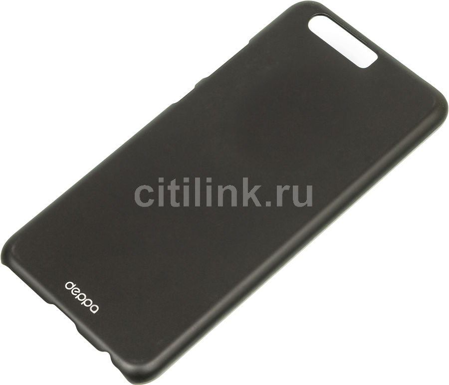 Чехол (флип-кейс) DEPPA Air Case, для Huawei P10, черный [83310]