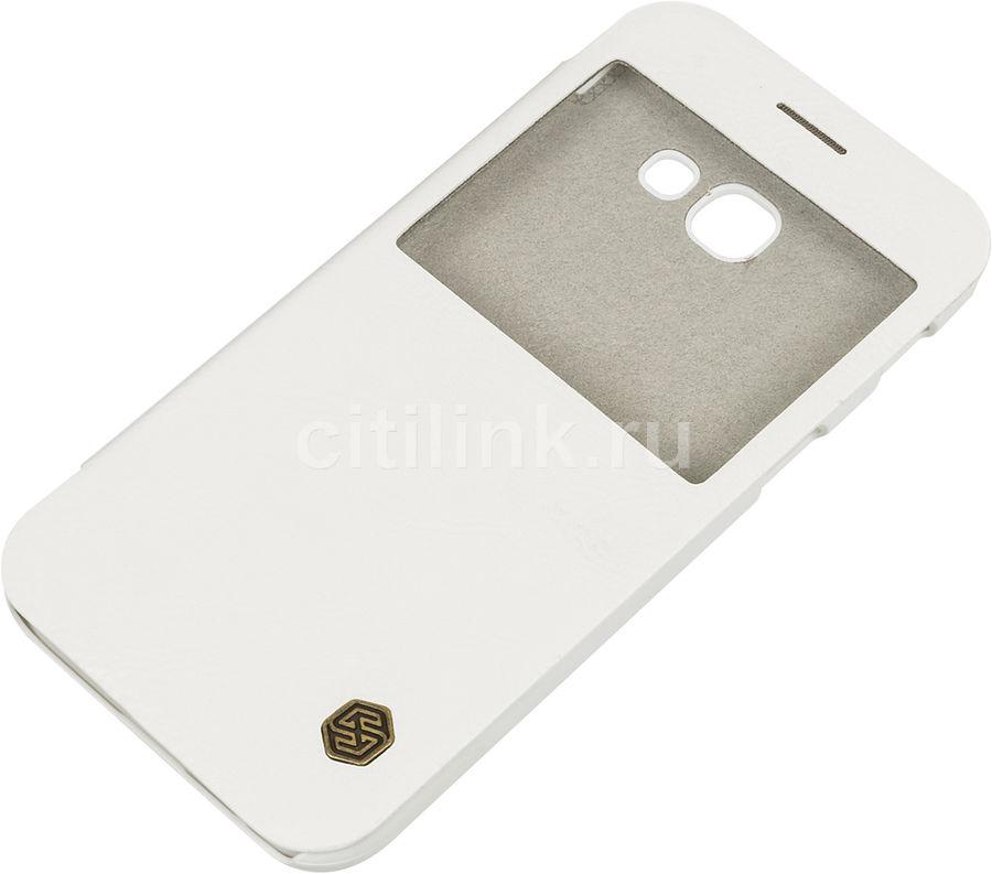 Чехол (флип-кейс)  Nillkin Qin, для Samsung Galaxy A5 (2017), белый