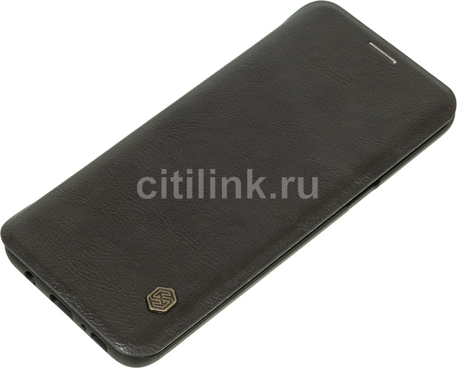 Чехол (флип-кейс) Nillkin Qin, для Samsung Galaxy S8+, черный nillkin qin leather case чехол для samsung galaxy s8 plus braun