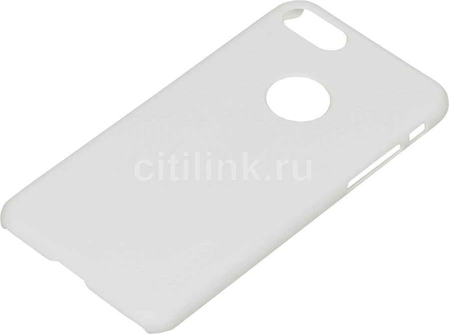 Чехол (клип-кейс) Nillkin Super Frosted Shield, для Apple iPhone 7, белый apple чехол клип кейс apple для apple iphone 7 mmy52zm a черный