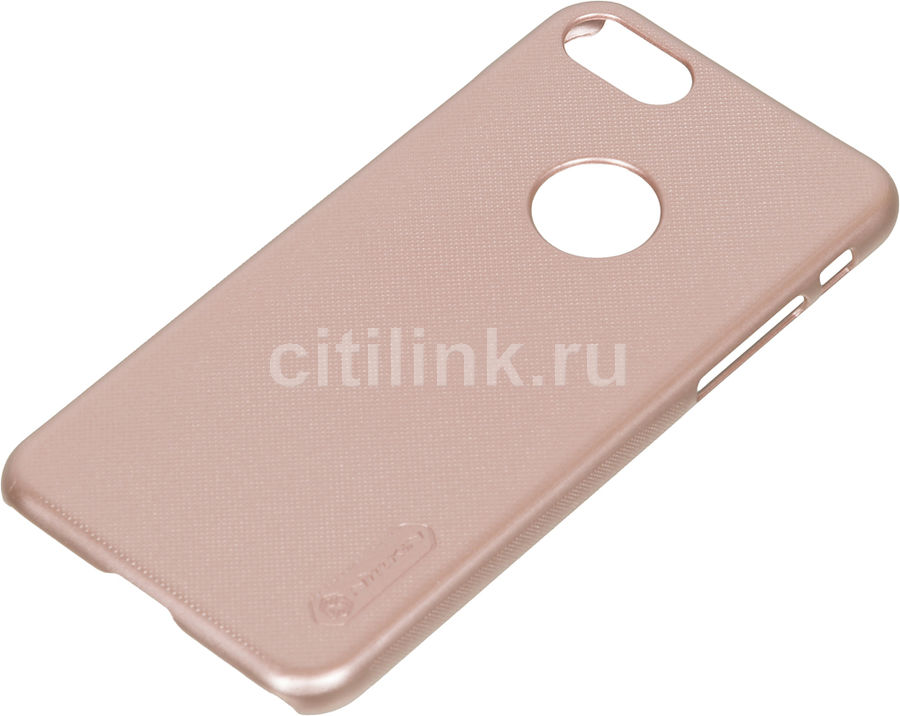 Чехол (клип-кейс) Nillkin Super Frosted Shield, для Apple iPhone 7, розовый apple чехол клип кейс apple для apple iphone 7 mmy52zm a черный