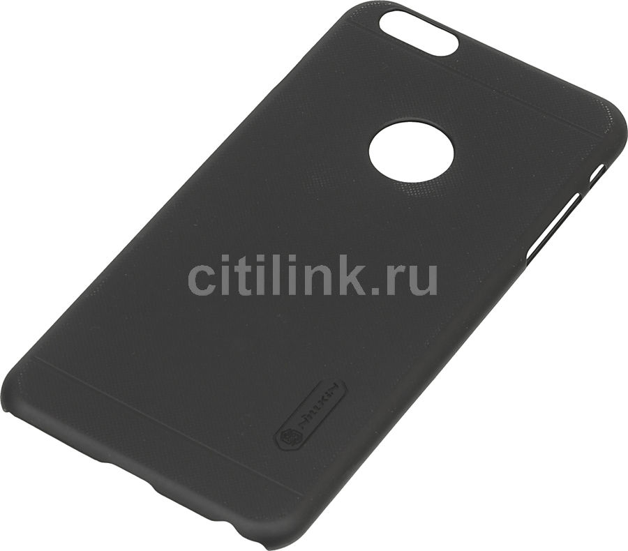 Чехол (клип-кейс) Nillkin Super Frosted Shield, для Apple iPhone 6 Plus/6S Plus, черный