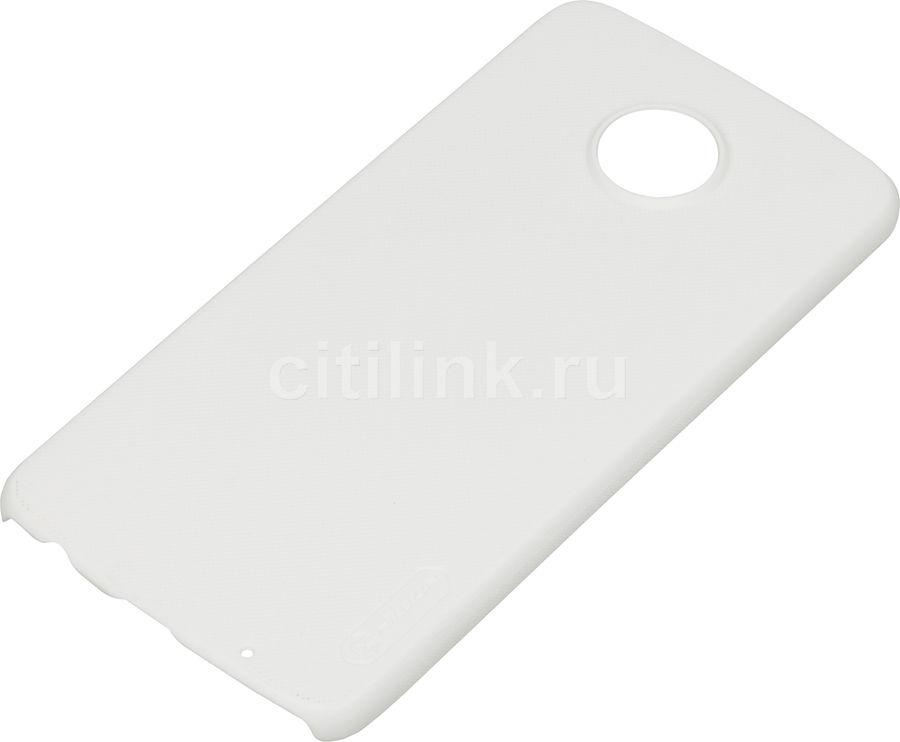 Чехол (клип-кейс)  Nillkin Super Frosted Shield, для Motorola Moto Z2 Play, белый