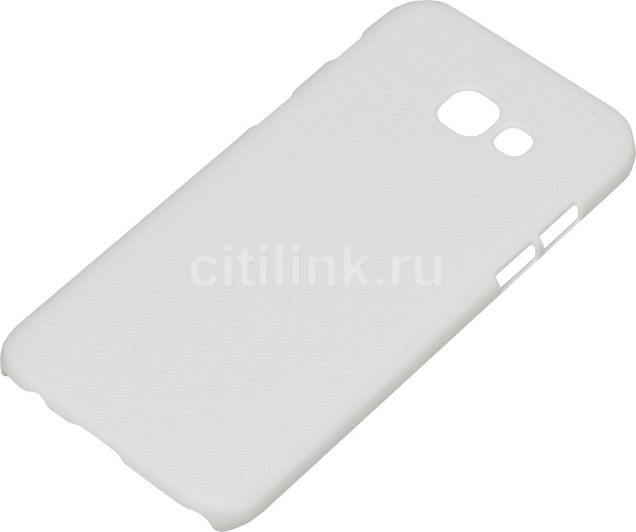 Чехол (клип-кейс) Nillkin Super Frosted Shield, для Samsung Galaxy A5 (2017), белый nillkin super frosted shield чехол для samsung galaxy mega 6 3 black