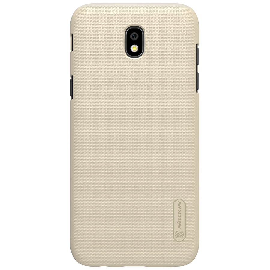Чехол (клип-кейс) NILLKIN Super Frosted Shield, для Samsung Galaxy J5 (2017), золотистый nillkin super frosted shield чехол для samsung galaxy s4 active black