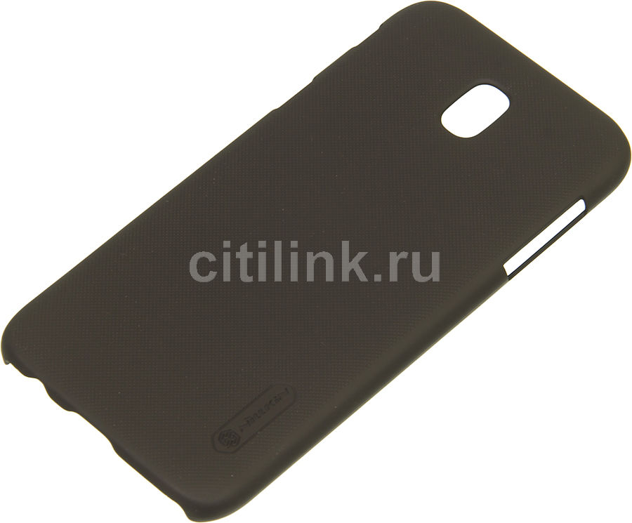 Чехол (клип-кейс) Nillkin Super Frosted Shield, для Samsung Galaxy J5 (2017), коричневый nillkin super frosted shield чехол для samsung galaxy mega 6 3 black