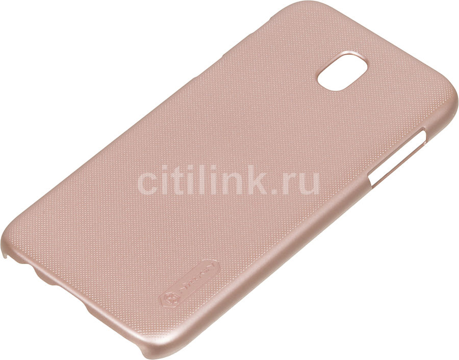 Чехол (клип-кейс) Nillkin Super Frosted Shield, для Samsung Galaxy J5 (2017), розовый nillkin super frosted shield чехол для samsung galaxy mega 6 3 black