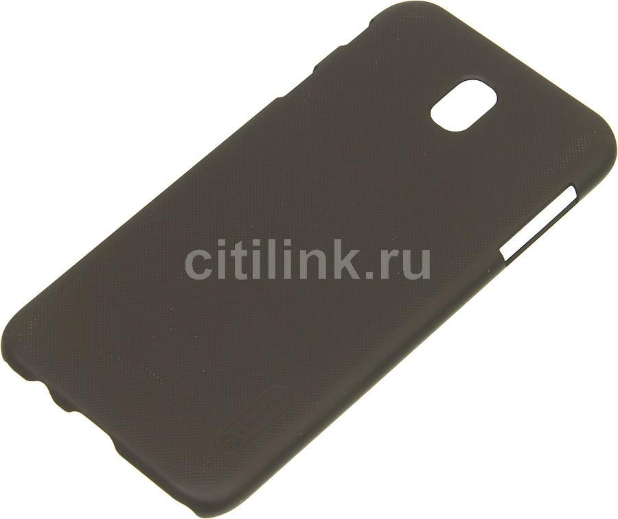 Чехол (клип-кейс) NILLKIN Super Frosted Shield, для Samsung Galaxy J7 (2017), коричневый