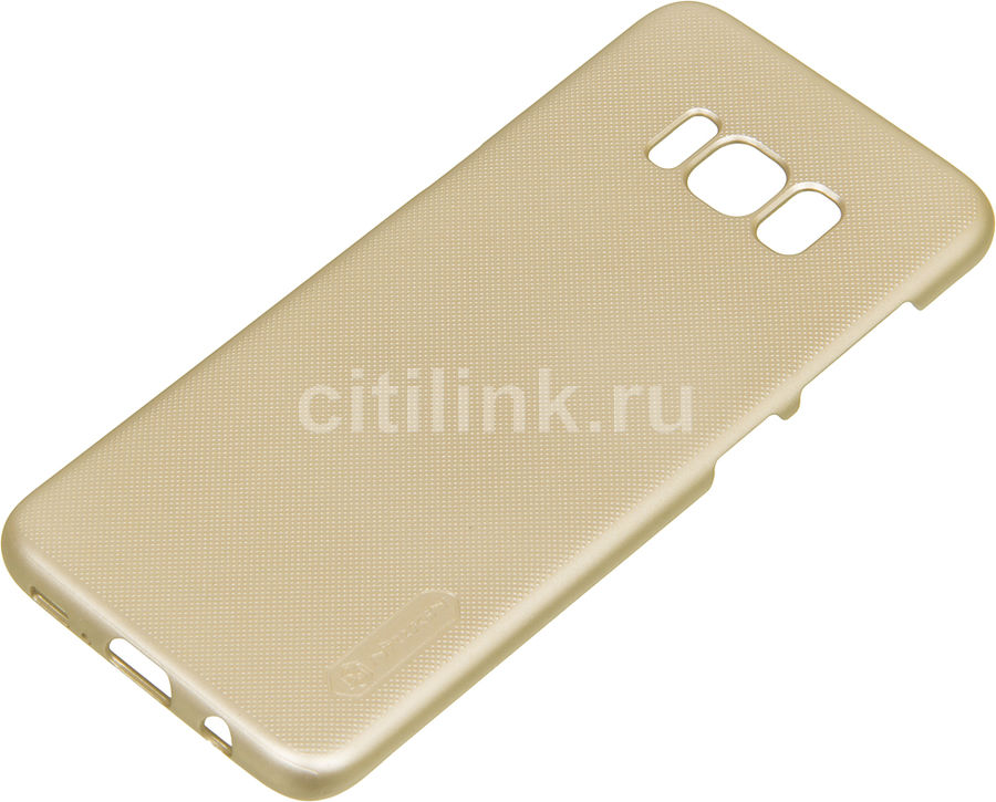 Чехол (клип-кейс) Nillkin Super Frosted Shield, для Samsung Galaxy S8, золотистый nillkin super frosted shield чехол для samsung galaxy mega 6 3 black