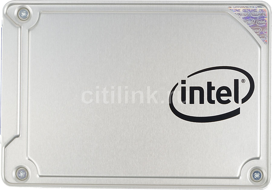 """SSD накопитель INTEL 545s Series SSDSC2KW128G8X1 128Гб, 2.5"""", SATA III [ssdsc2kw128g8x1 959542]"""