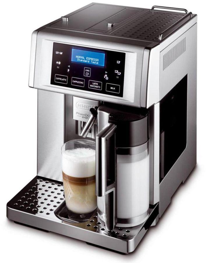 Кофемашина DELONGHI PrimaDonna Avant ESAM6704,  серебристый