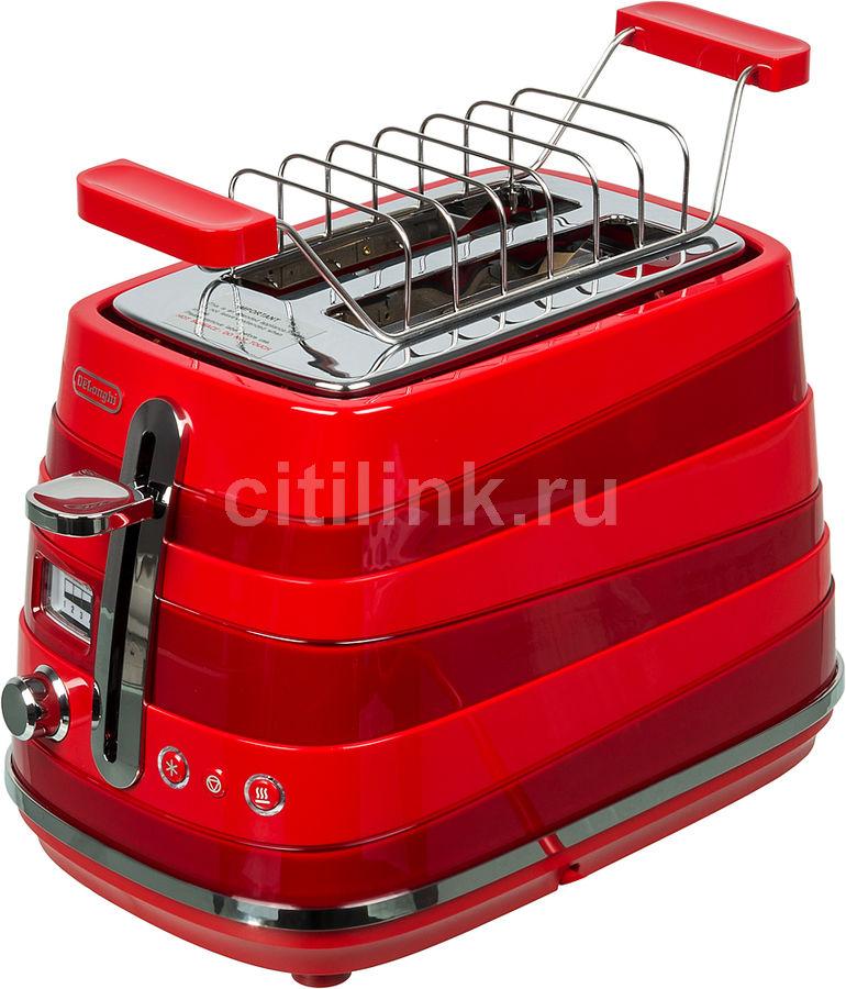Тостер DELONGHI CTA 2103.R,  красный [230020002]