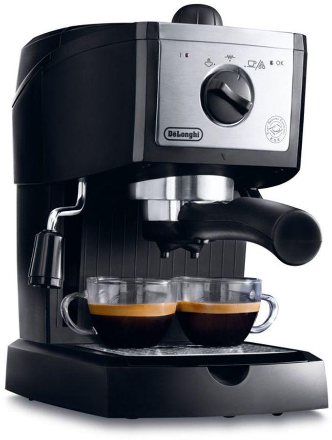 Кофеварка DELONGHI EC156.B,  эспрессо,  черный  [132104134]