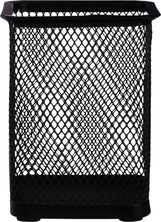 Подставка Deli E9174 для пишущих принадлежностей черный металл сетка