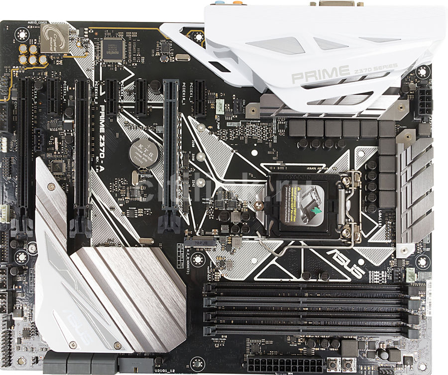 Материнская плата ASUS PRIME Z370-A, LGA 1151v2, Intel Z370, ATX, Ret