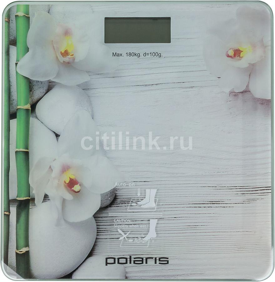 Напольные весы POLARIS PWS 1863DG, цвет: рисунок
