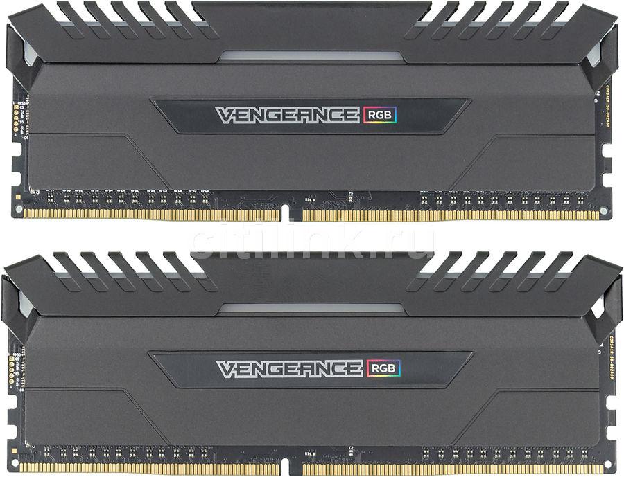 Модуль памяти CORSAIR Vengeance LPX CMK16GX4M2C3000C16 DDR4 -  2x 8Гб 3000, DIMM,  Ret
