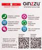"""Смарт-часы GINZZU GZ-505,  1.22"""",  синий / синий [00-00000978] вид 9"""