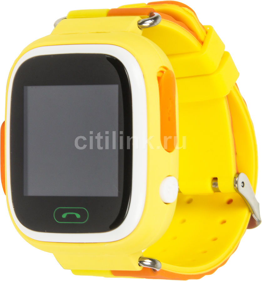 """Смарт-часы GINZZU GZ-505,  1.22"""",  желтый / желтый [00-00000980]"""