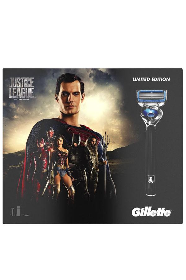 Набор подарочный GILLETTE Fusion Proshield Chill, (Cтанок с 1 сменной кассетой + 2 сменные кассеты + гель для бритья 2-в-1 170 мл) [gil-81628141]