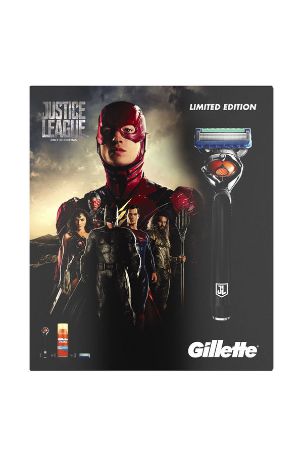 Набор подарочный GILLETTE Fusion Proglide Flexball, (Станок с 1 сменной кассетой + 2 сменные кассеты + гель для бритья 75 мл) [gil-81628134]