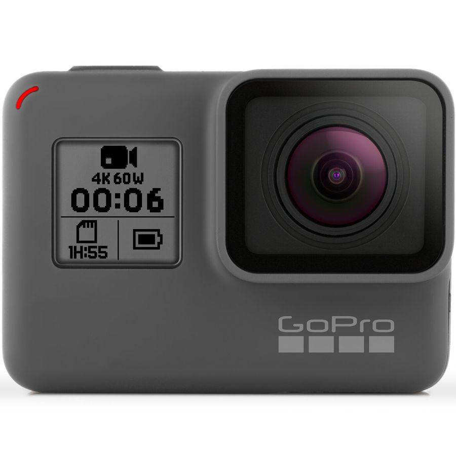 Экшн-камера GOPRO HERO6 Black Edition 4K,  WiFi,  черный [chdhx-601]