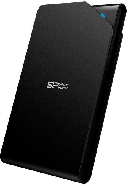 Внешний жесткий диск SILICON POWER Stream S03, 500Гб, черный [sp500gbphds03s3k]