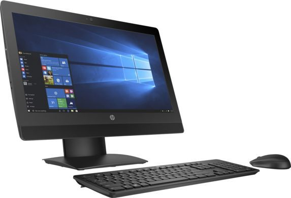 Моноблок HP ProOne 600 G3, Intel Core i5 7500, 4Гб, 500Гб, Intel HD Graphics 630, DVD-RW, Windows 10 Professional, черный [2kr74ea]