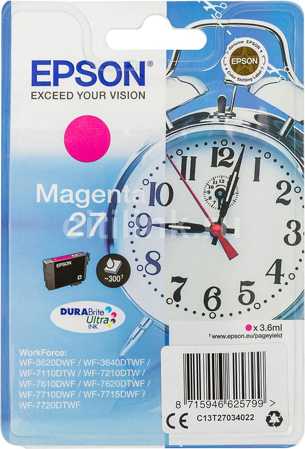 Картридж EPSON T2702, пурпурный [c13t27034022]