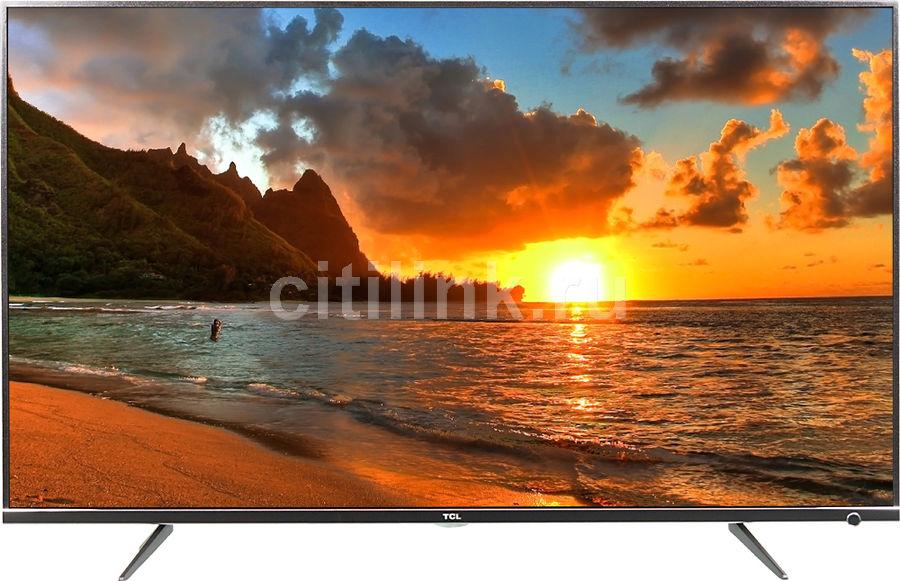 """LED телевизор TCL L43P6US  """"R"""", 43"""", Ultra HD 4K (2160p),  черный"""