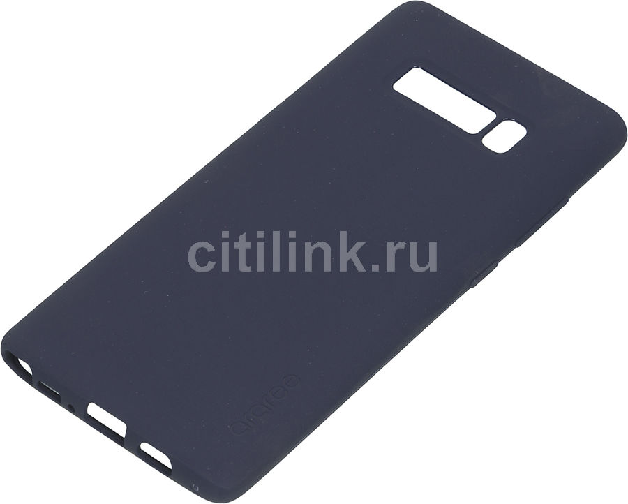 Чехол (клип-кейс) SAMSUNG araree Airfit, для Samsung Galaxy Note 8, синий [gp-n950kdcpaaf] protective silicone back case w stand for samsung galaxy note 3 translucent grey white