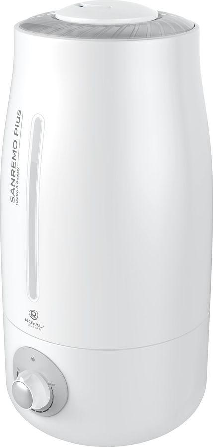 Увлажнитель воздуха ROYAL CLIMA RUH-SP400/3.0M-SV,  белый  / серебристый