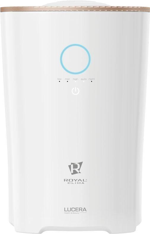 Увлажнитель воздуха Royal Clima RUH-L400/4.0E-WT 27Вт (ультразвуковой) белый(Б/У)