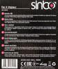 Утюг SINBO SSI 6602,  1800Вт,  фиолетовый/ белый вид 10