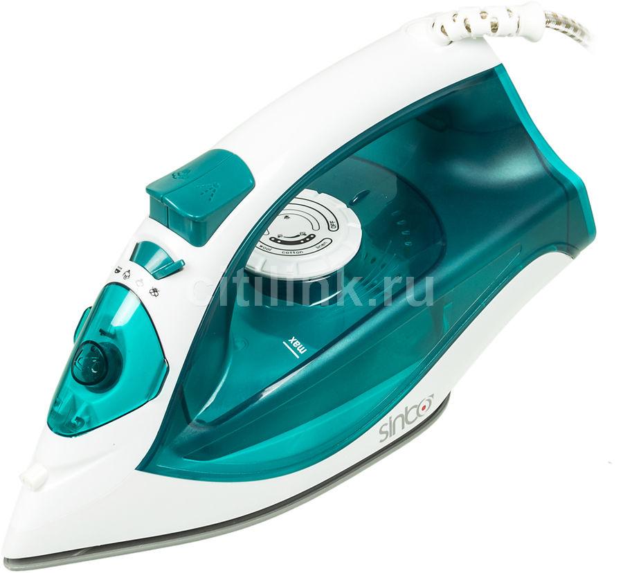 Утюг SINBO SSI 6603,  2200Вт,  синий/ белый