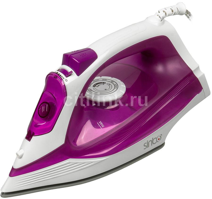 Утюг SINBO SSI 6619,  2400Вт,  фиолетовый/ белый