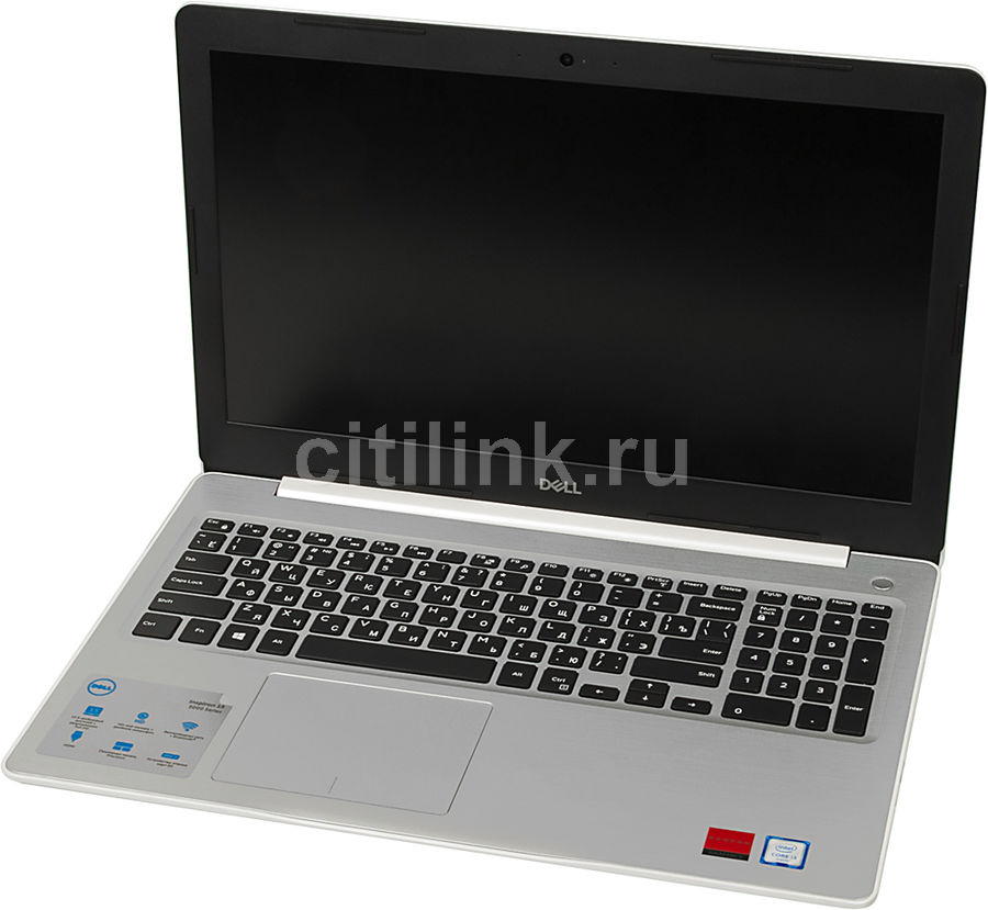 Ноутбук DELL Inspiron 5570, 15.6, Intel Core i3 6006U 2.0ГГц, 4Гб, 256Гб SSD, AMD Radeon R530 - 2048 Мб, DVD-RW, Windows 10, белый [5570-5281] адаптер dell intel ethernet i350 1gb 4p 540 bbhf