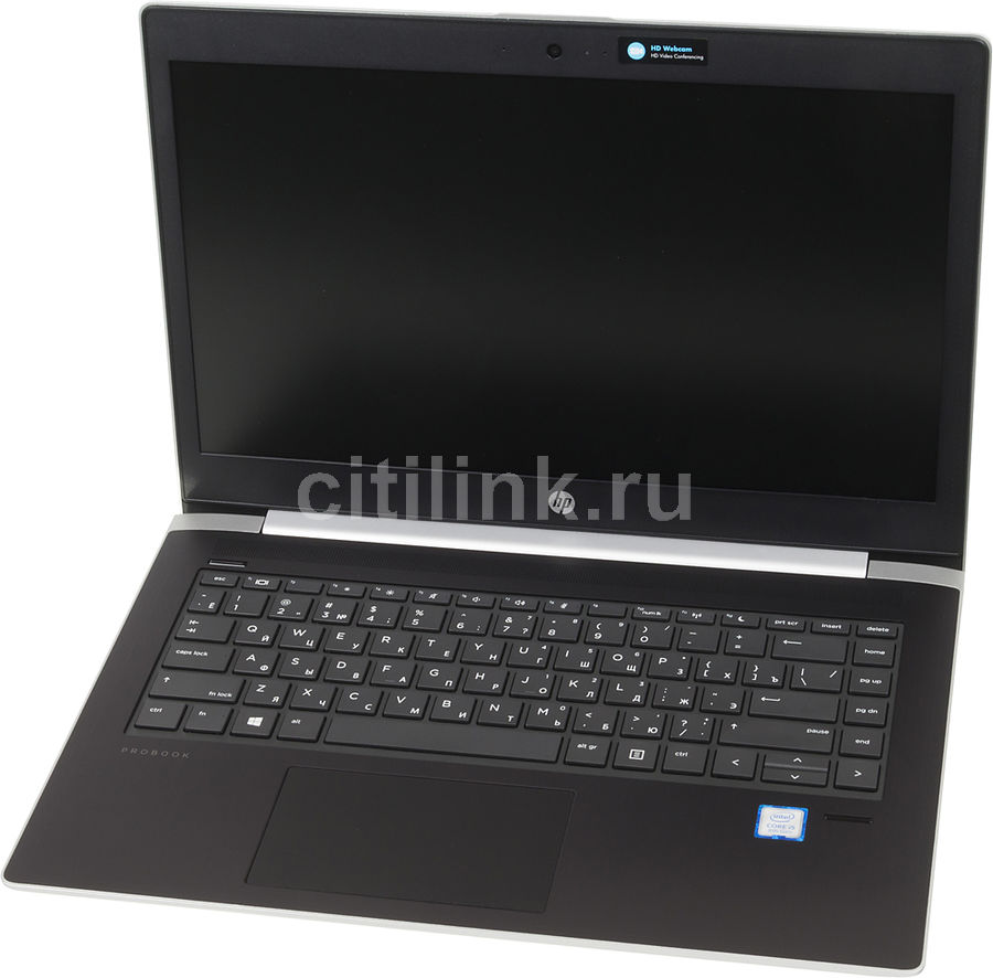 Ноутбук HP ProBook 430 G5, 13.3, Intel Core i3 7100U 2.4ГГц, 4Гб, 500Гб, Intel HD Graphics 620, Free DOS 2.0, 2SY14EA, серебристый