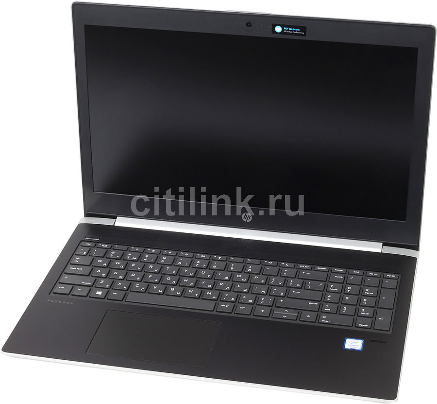 Ноутбук HP ProBook 450 G5, 15.6, Intel Core i3 7100U 2.4ГГц, 4Гб, 500Гб, Intel HD Graphics 620, Windows 10 Professional, 2RS16EA, серебристыйНоутбуки<br>экран: 15.6;  разрешение экрана: 1366х768; тип матрицы: SVA; процессор: Intel Core i3 7100U; частота: 2.4 ГГц; память: 4096 Мб, DDR4, 2400 МГц; HDD: 500 Гб, 7200 об/мин; Intel HD Graphics 620; WiFi;  Bluetooth; HDMI; WEB-камера; Windows 10 Professional<br><br>Линейка: ProBook