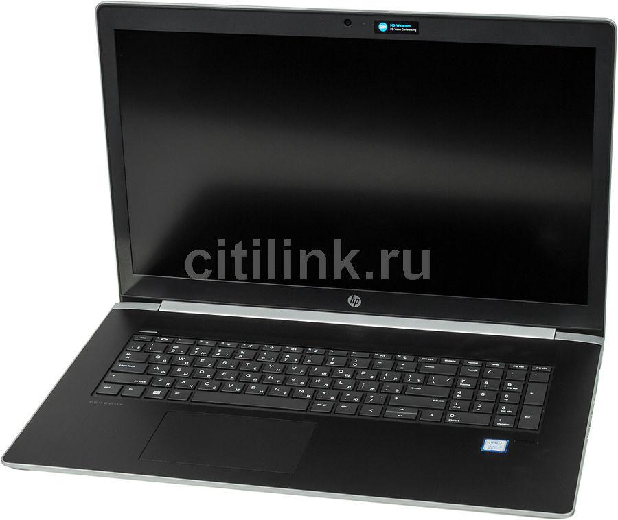 """Ноутбук HP ProBook 470 G5, 17.3"""",  Intel  Core i5  8250U 1.6ГГц, 8Гб, 256Гб SSD,  nVidia GeForce  930MX - 2048 Мб, Windows 10 Professional, 2VP93EA,  серебристый"""